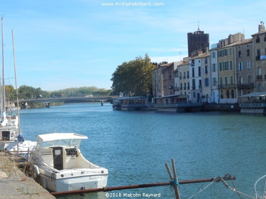 Agde - on the Estuary of the River Hérault